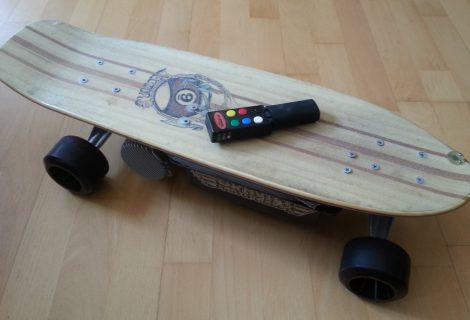 Elektroskateboard erste Begegnung