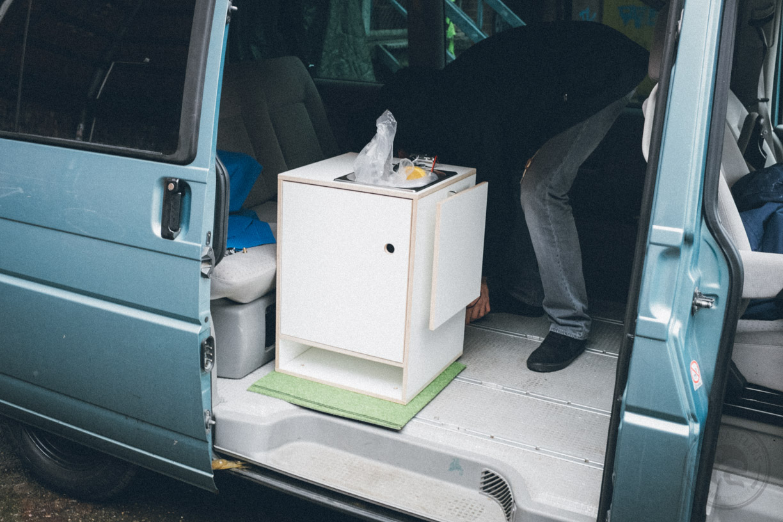 Ghostbastlers Vw Bus Küchenblock