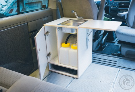 VW Bus Küchenblock