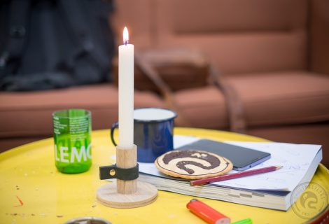 Kerzenhalter Alma