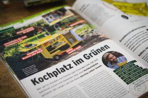 Selber Machen – Kochplatz im Grünen