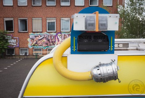 Seifenblasenroboter