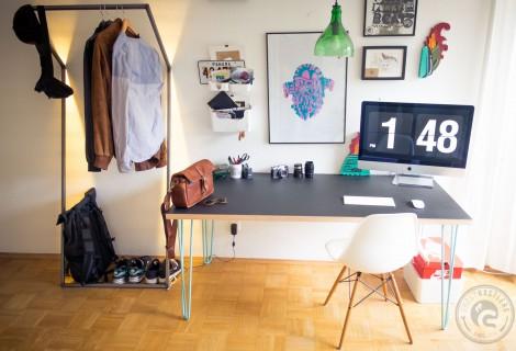 Hairpin Legs Schreibtisch