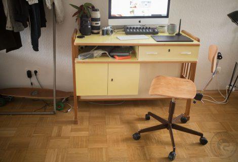 Schreibtischstuhl aufwerten