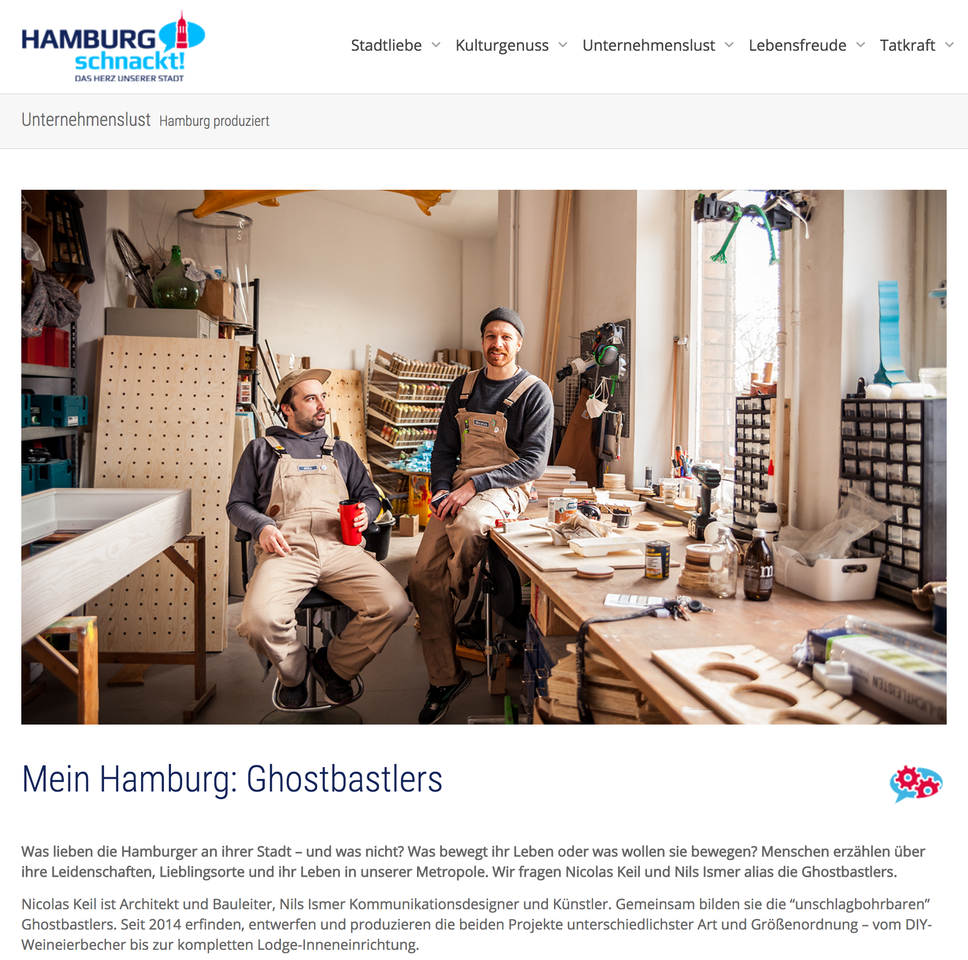 Hamburg schnackt – Mein Hamburg: Ghostbastlers