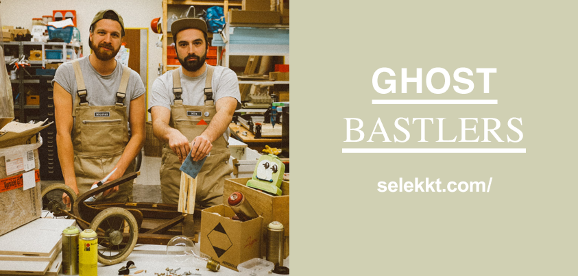 die Ghostbastlers im aktuellen Selekkt.com Newsletter