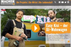 MACHER Stories – Easy Kisi der DJ-Wohnwagen